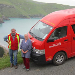 Read more about the article Eastern Bays Scenic Mail Run: Banks Peninsula/Akaroa