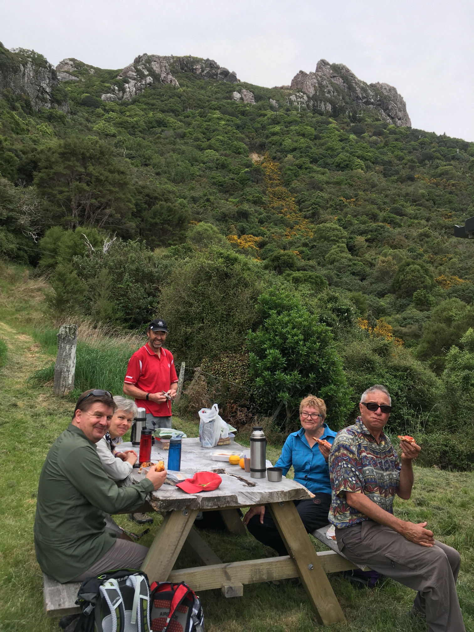 Josef Langer Charitable Trust New Zealand - Walking Festival, Akaroa, Banks Peninsula (33)