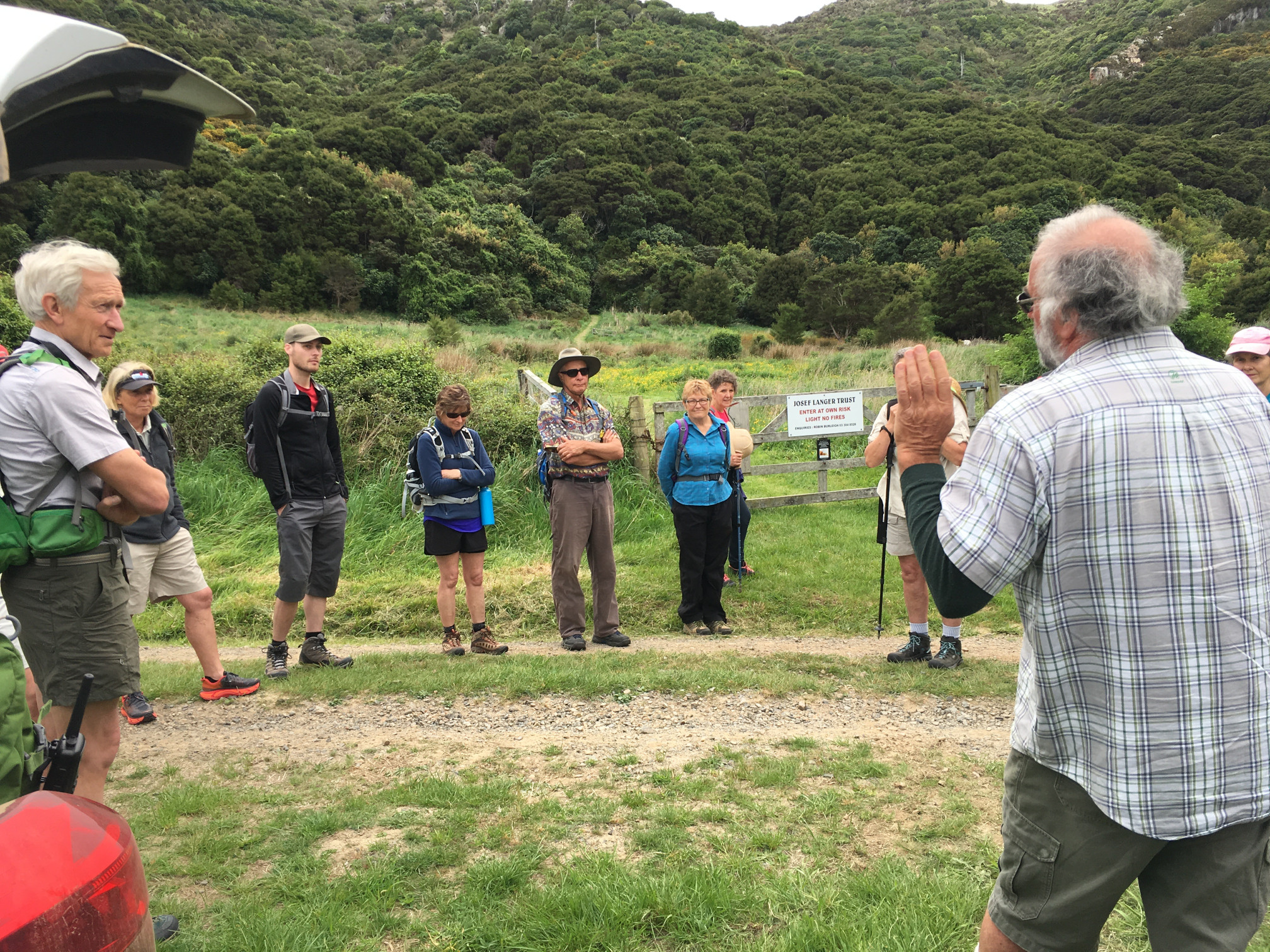 Josef Langer Charitable Trust New Zealand - Walking Festival, Akaroa, Banks Peninsula (4)